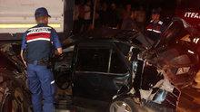 Düzce'de zincirleme trafik kazası: 1 yaralı