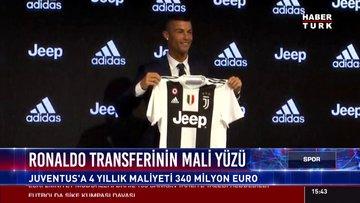 Ronaldo transferinin mali yüzü