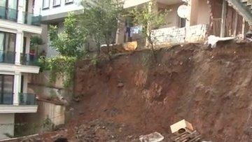 Sancaktepe'de bir binada çökme riski! Bina boşaltıldı