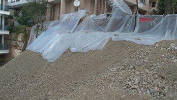 Sancaktepe'de toprak kaymasının yaşandığı binada son durum