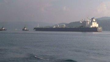 Boğaz'da arızalı gemi alarmı