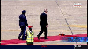 Cumhurbaşkanı Zambiya'da