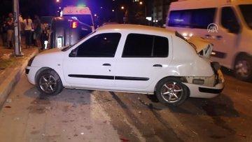 Adana'da trafik kazası! 2 kişi yaralandı