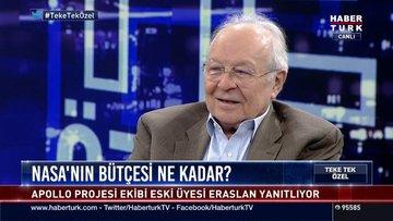 Apollo ekibi eski üyesi Prof. Dr. Arsev Eraslan  Habertürk TV'de