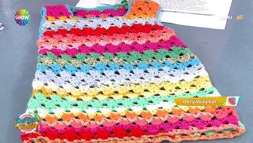 Derya Baykal'dan rengarenk çocuk elbisesi!