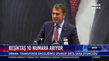Beşiktaş 10 numara arıyor