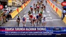 Fransa turunda kazanan Thomas