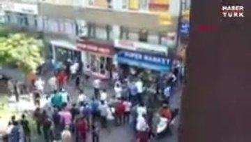 Yer: İstanbul... Ortalık bir anda savaş alanına döndü