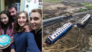 Tren kazasında iki kızını ve yeğenini kaybeden anne o anları anlattı