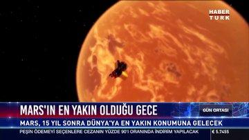 Mars'ın en yakın olduğu gece