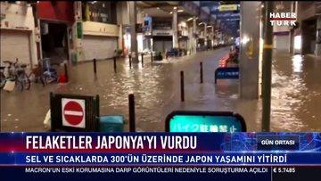 Felaketler Japonya'yı vurdu