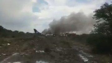 Meksika'da uçak kazası