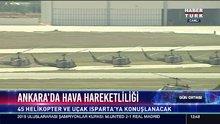 Ankara'da hava hareketliliği