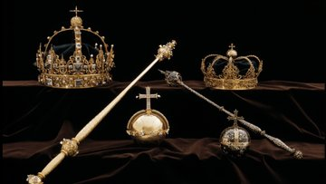 Film gibi soygun! İsveç Kraliyet Ailesi'ne ait 2 taç ve saltanat küresi çalındı