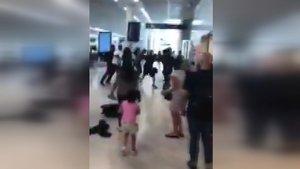 Havaalanında büyük gerilim! Fransız rapçiler birbirine girdi