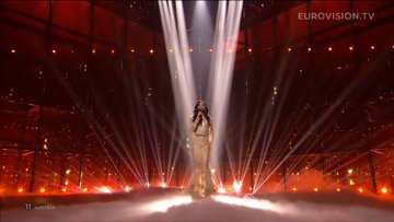 Conchita Wurst 2014 Eurovision Büyük Finali
