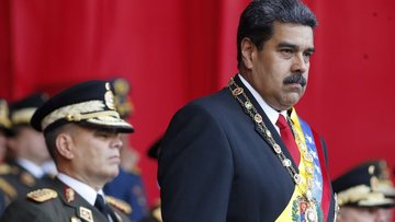 Maduro'ya suikast girişimi!
