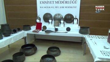 2 bin yıllık gladyatör miğferi ele geçirildi