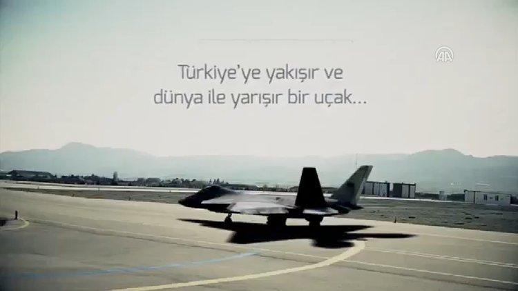 """Milli savaş uçağında """"süper"""" başlangıç"""
