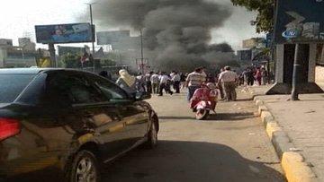 Mısır'da patlama! Bomba yüklü araç infilak etti