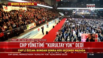 CHP'li vekillerden kurultay açıklaması