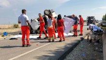 İtalya'da feci kaza: 12 ölü, 3 yaralı