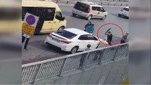 Otomobili krikoyla haşat etmişti... O saldırgan serbest bırakıldı