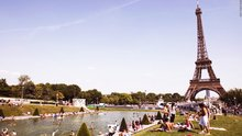 Fransa sıcaktan kavruluyor! Paris'te turuncu alarm verildi