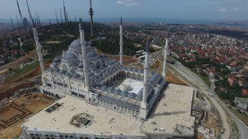 Çamlıca Camii'nde son durum ne?