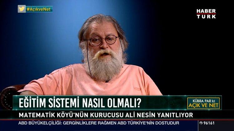 Son Dakika Prof Matematikçi Ali Nesinden Atatürke Hakaret