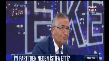 Özcan Yeniçeri İYİ Parti'den neden istifa ettiğini anlattı!