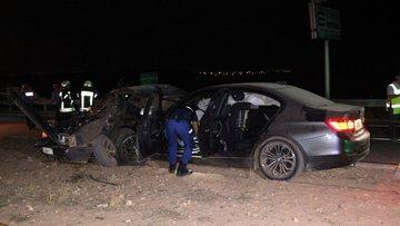 Karaman'da trafik kazası: 2 ölü, 4 yaralı