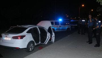 Polisten kaçan otomobil kapanla durduruldu