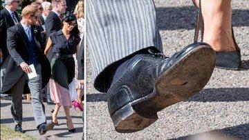Prens Harry'nin delik ayakkabısı tartışma yarattı
