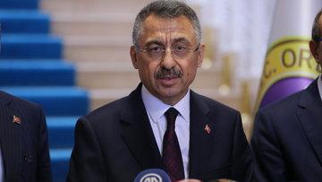 Cumhurbaşkanı Yardımcısı Oktay, Ordu'da: Can kaybımız olmadı, hasar alt seviyelerde
