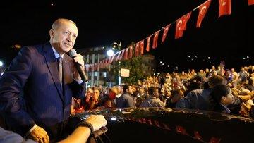 Cumhurbaşkanı Erdoğan: Onların dolarları varsa, bizim halkımız var