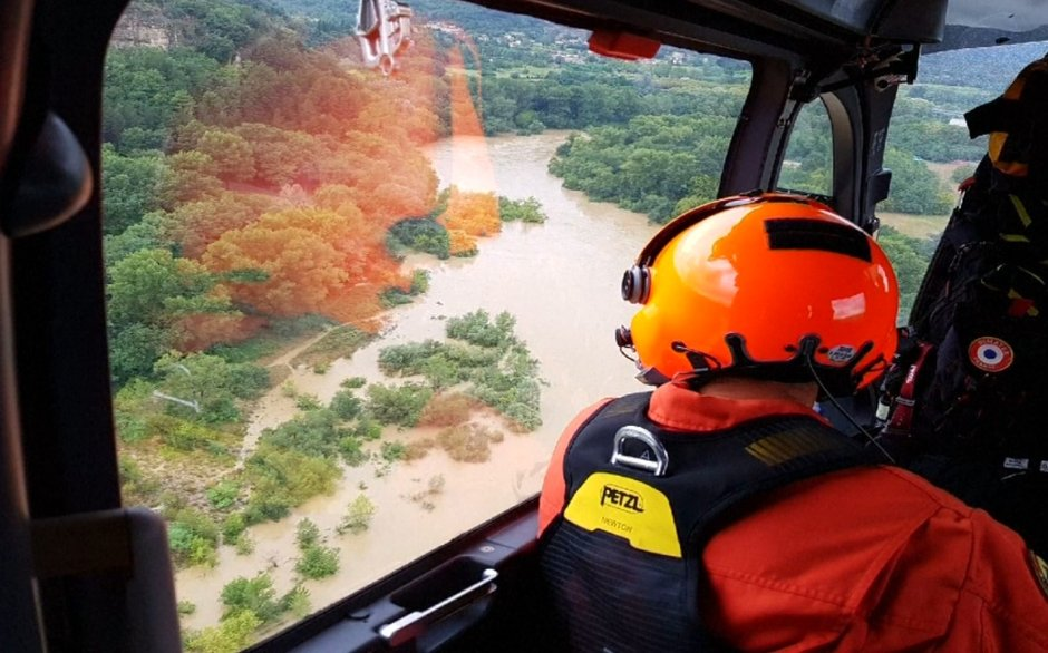 Fransa'da sel felaketi! Gard bölgesinden 750 kişi tahliye edildi