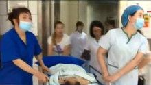 Dördüncü kattan düşen çocuk son anda kurtarıldı