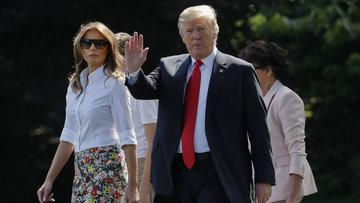 Melania Trump'ın anne ve babası ABD vatandaşı oldu
