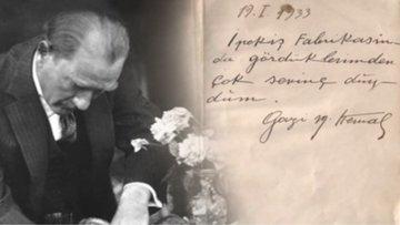 Atatürk'ün el yazısı sayısal yazı fontuna dönüştürüldü