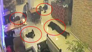 4 kişinin öldüğü çatışmanın yeni görüntüleri ortaya çıktı