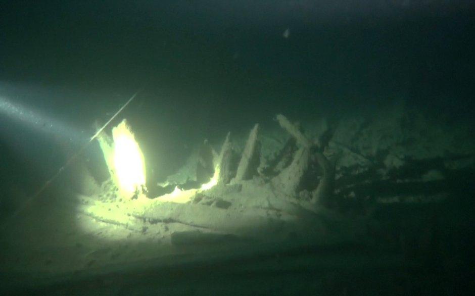 Karadeniz'de Roma dönemine ait gemi batığı bulundu