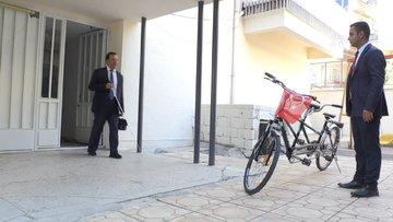 Gaziantep Büyükşehir Belediyesi Engelliler Daire Başkanı'nın 'makam aracı' bisiklet