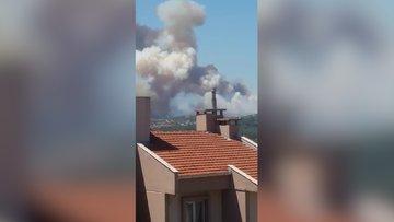 Mudanya'daki yangın