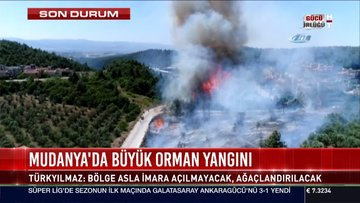 Mudanya Belediye Başkanı Türkyılmaz: