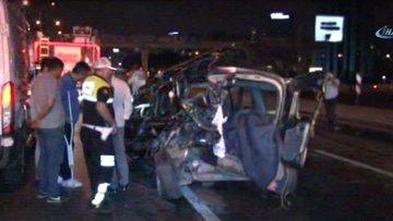 D-100 karayolunda feci kaza! 1 kişi öldü, 2 kişi yaralandı