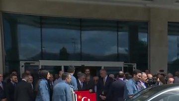Cumhurbaşkanı Erdoğan otel açılışına katıldı
