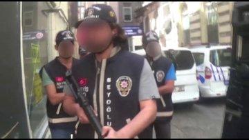 Beyoğlu'nda kan davası infazını polis engeli