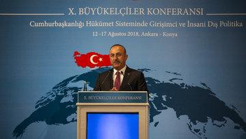 Dışişleri Bakanı Çavuşoğlu: ABD yaptırım ve baskı ile bir şey elde edemez!