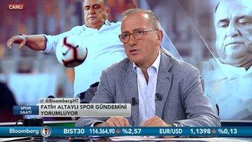 Fatih Altaylı - Fatih Kuşçu - Spor Saati 2. Bölüm (13.08.2018)